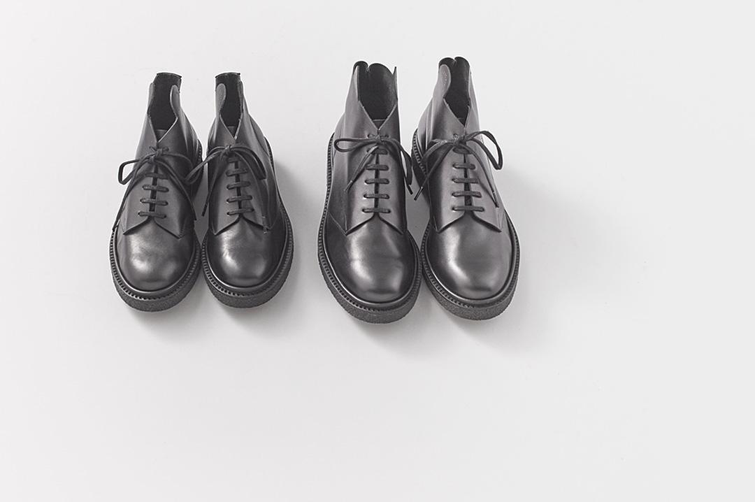 ADIEU × A&S | Lace-up Boots